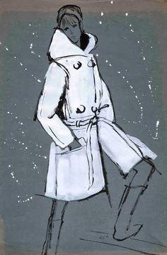 Fashion Illustrations by Eva Aldbrook from Gray Modern & Contemporary Art