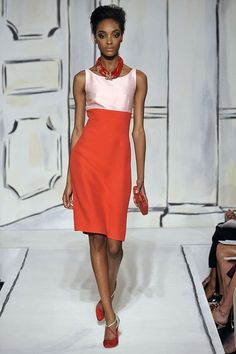 See the complete Oscar de la Renta Spring 2009 Ready-to-Wear collection.