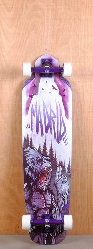 "The Madrid 38"" Bigfoot is designed for freeriding and downhill."