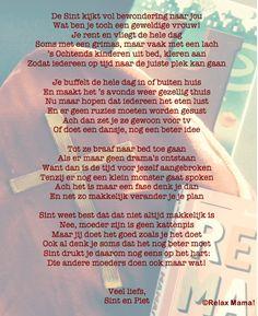 Kijk nou, wat Sint een tof gedicht voor ons heeft gemaakt!