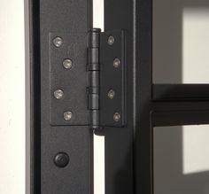 Steel doors from De Rooy Metaaldesign – Door Types Steel Frame Doors, Steel Doors And Windows, Metal Windows, The Doors, Metal Panels, Entry Doors, Loft Door, Steel Detail, Industrial Door