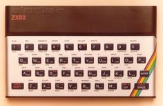 ZX Spectrum prototype labelled ZX 82