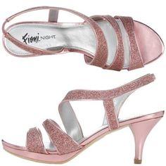 Payless Fioni Night Women's Lydia Asymmetrical Sandal - pretty in pink! $19.99  #pretty #fashion #sandals #shoes #pink