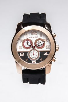 Lancaster Nonplusultra Sport Rose Gold Plated Watch