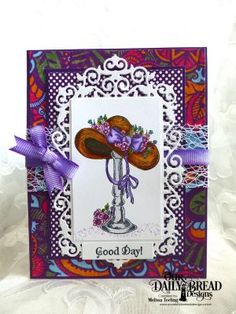 Our Daily Bread Designs Stamp Set: Good Day, Our Daily Bread Designs Paper Collections: Beautiful Boho, Boho Bolds, Our Daily Bread Designs Custom Die: Filigree Frames