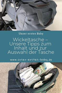 Wickeltasche – Unsere Tipps zum Inhalt und zur Auswahl der Tasche Diaper bag - Our tips on the content and selection of the bag Parenting Teens, Single Parenting, Parenting Humor, Breastfeeding Techniques, Breastfeeding Tips, Baby Must Haves, New Baby Checklist, Baby Shooting, Hospital Bag