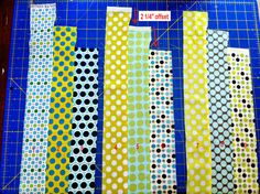 Lone Star Quilt Tutorial saw this a while ago and didn't pin it.  Now I have it.
