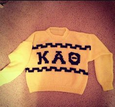 Vintage Kappa Alpha Theta Sweater! #theta1870