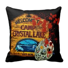 Photographic and Digital Artwork Polyester Throw Pillows… Movie Decor, Movie Themes, Horror Decor, Horror Art, My Ideal Home, Beach Cottage Style, Best Horrors, Gothic House