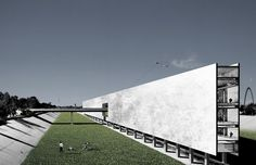 espacio cero's 'invisible wall' revitalizes US-MEX border