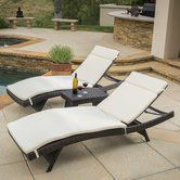 Found it at AllModern - Ardoin 3 Piece Chaise Lounge Set with Cushion