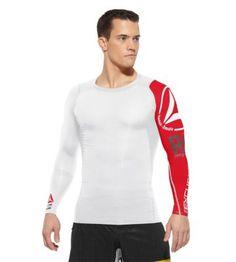 Reebok Men's Reebok CrossFit Compression Top Long Sleeve Tops | Official Reebok Store