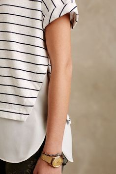 Linear Tee - anthropologie.com #anthrofave