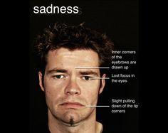 micro expression sadness