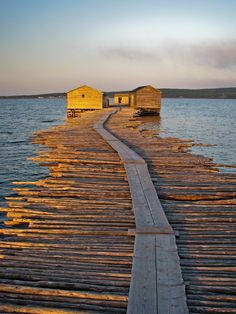 Raleigh Historic Fishing Village, Burnt Cape, Newfoundland | by Brittany Taylor, via 500px