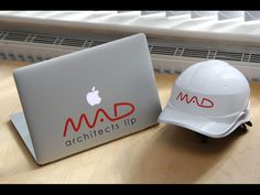 Mad Architects  iPad and safety helmet stickers