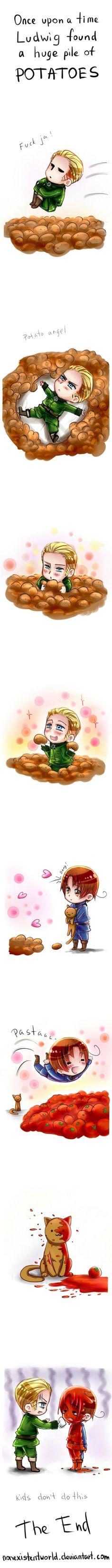 APH : Feli goes to heaven by NonexistentWorld.deviantart.com on @deviantART