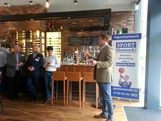 Mark Robertson (Scotland 7s) - excellent talk about the importance of mental strength for a pro sportsman. Sport Network Edinburgh. No.8 Lister Square, Edinburgh. Many thanks to event partners Everything4Rugby.