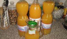 Domácí pomerančový džus | recept Hot Sauce Bottles, Dishes, Food, Tablewares, Essen, Meals, Yemek, Dish, Signs