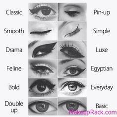 12 Eyeliner Looks that can inspire you :D