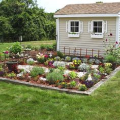 Love the garden idea for around my shed.