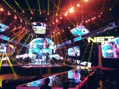 Stage for NET One Presents Indonesian Choice Awards. Indonesia has this!