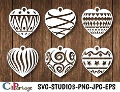 SVG / PDF Christmas Hanging Decorations by TommyandTillyDesign Christmas Hearts, Christmas Images, Christmas Balls, Christmas Ornaments, Pvc Pipe Projects, Scroll Saw Patterns, Paper Quilling, Paper Cutting, Diy And Crafts