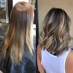 110 medium to long hair styles ombre balayage hairstyles for women 2019 pag - Hair and Hair Balayage Hair Blonde, Brown Blonde Hair, Balayage Highlights, Bayalage, Short Hair With Balayage, Medium Balayage Hair, Bronde Lob, Haircolor, Medium Hair Styles