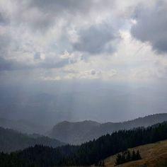 #rain #mountains
