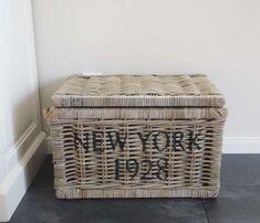 Rattan Lampe, New York, Hamper, Box, Basket, Organization, House Styles, Furniture, Home Decor