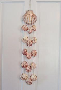 Seashell Windchime by Bitsofthebeach on Etsy, $15.00