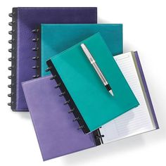 Circa Shades Foldover Notebook - Levenger (Discbound Notebooks)