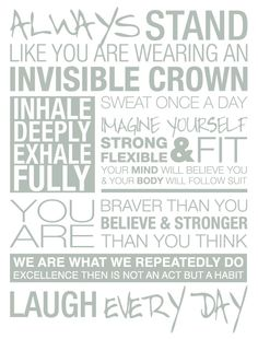 Always stand like you are wearing an invisible crown! #JUSTdoit