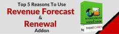 Top 5 reasons to use Revenu Forecast and Renewal Addon https://www.themechilly.com/blog/top-5-reasons-to-use-revenue-forecast-renewal-addon-for-web-hosting-providers/