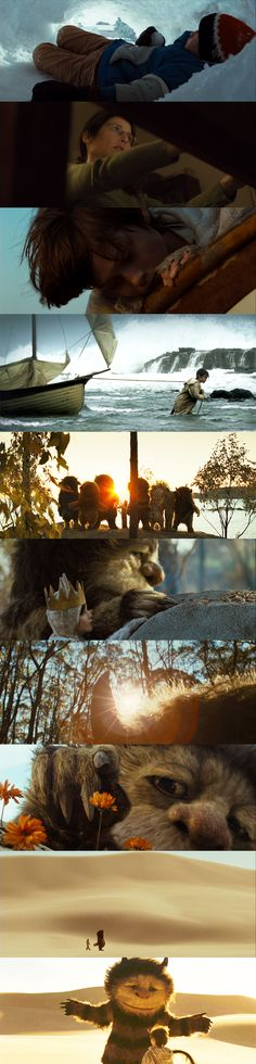 So meany beautiful shots in this film. Where The Wild Things Are
