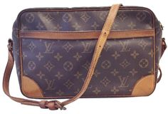0f06588344 Louis Vuitton Trocadero Messenger Monogram Cross Body Bag