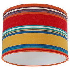 Slapton Deckchair Stripe Lampshade - lighting