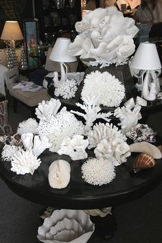 coral from MerMade Designs - elegant pieces to add to any room.