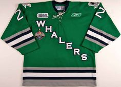 Whalers AJ Jenks Hockey Jersey Any Player or Number New Hockey Sweater, Sports Equipment, Sweatshirts, Number, Sweaters, Mens Tops, How To Wear, Plymouth, 6 Inches