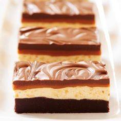 Chocolate Caramel Commotion Bars