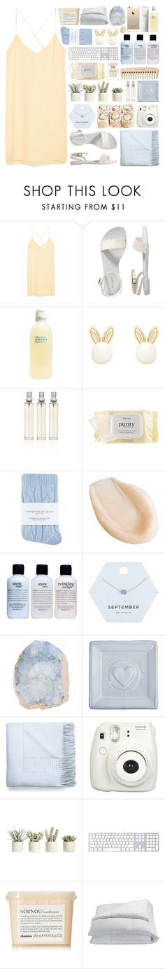 """""""everything 24 karats"""" by scallydragon ❤ liked on Polyvore featuring MANGO, Old Navy, The Body Shop, Tocca, Lipsy, philosophy, Johnstons, Miss Selfridge, Juliska and Acne Studios"""