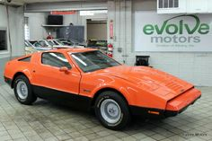 """The Bricklin SV-1 was only produced between 1974-76 and manufactured in New Brunswick, Canada. The name, SV-1, stood for """"safety vehicle one"""" which looked to be a safe and economical sports car."""