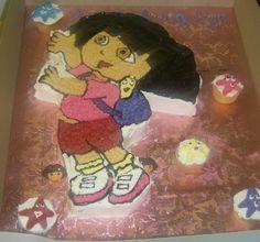 Dora Sheet cake style