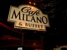 Cafe Milano at the Peppermill Casino in Wendover.