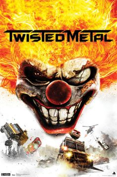 Twisted Metal – Key Art Poster