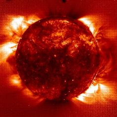 Our Sun... its relatively small, but it is still a superStar!