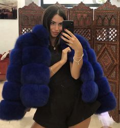 Fur Jackets, Fox Fur, Furs, Worship, Fur Coat, Passion, Selfie, Sexy, Blue