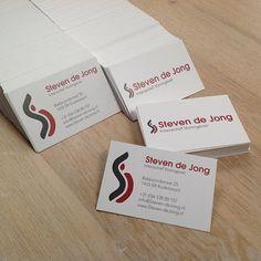 Steven de Jong #business #cards | Uploaded by www.drukwerkdeal.nl