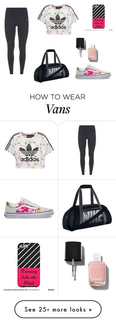 """""""Senza titolo #1545"""" by lulli01 on Polyvore featuring adidas Originals, NIKE, Vans and Chanel"""