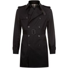 Sandro Cotton Trench Coat (36.510 RUB) ❤ liked on Polyvore featuring men's fashion, men's clothing, men's outerwear, men's coats, mens double breasted trench coat, mens double breasted coat, mens cotton trench coat, mens trench coat and men's cotton sport coat